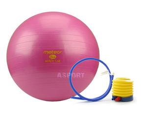 Pi�ka gimnastyczna, fitness, do �wicze� 55cm + pompka Meteor - 2836905862