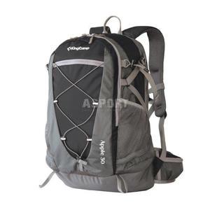 Plecak trekkingowy, turystyczny APPLE 30L King Camp Kolor: czarny - 2850215384