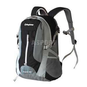 Plecak trekkingowy, turystyczny PEACH 28L King Camp Kolor: czarny - 2850215392