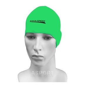 Czepek pływacki, silikonowy RACER zielony Aqua-Speed - 2836059492