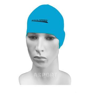 Czepek pływacki, silikonowy RACER jasnoniebieski Aqua-Speed - 2836059493
