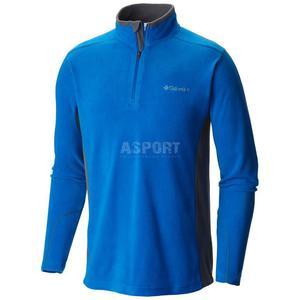 Bluza polarowa, flisowa, męska, filtr UPF50 KLAMATH RANGE - 2838738664