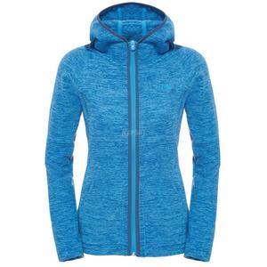 Bluza polarowa, damska, z kapturem NIKSTER FULL ZIP The North Face Rozmiar: S Kolor: niebieski - 2840732419