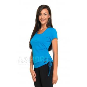 Koszulka fitness, do tańca, damska DOMINIKA Gwinner Rozmiar: XL Kolor: niebieski - 2824073304