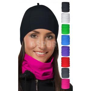 Bandana, komin na szyję, na twarz TUBE SOFTline 8kolorów Rozmiar: L/XL Kolor: zielony - 2824073418