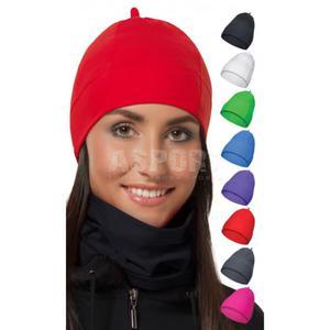 Czapka do biegania, na jogging, na co dzień, liner pod kask SKULLY 8kolorów Rozmiar: L/XL Kolor: czerwony - 2824073427