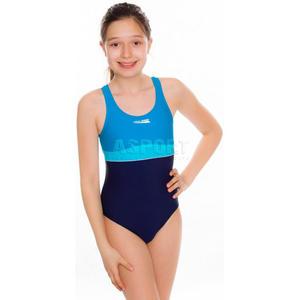 Strój kąpielowy jednoczęściowy, dziecięcy, młodzieżowy EMILY Aqua-Speed Rozmiar: 140 cm Kolor: turkusowy - 2824073644