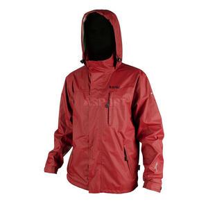 Kurtka męska z kapturem, wodoodporna membrana Tecproof DRAGON Hi-Tec Rozmiar: L Kolor: czerwony - 2824075142