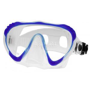 Maska nurkowa, bezramkowa NEO Aqua-Speed Kolor: niebieski - 2824075621