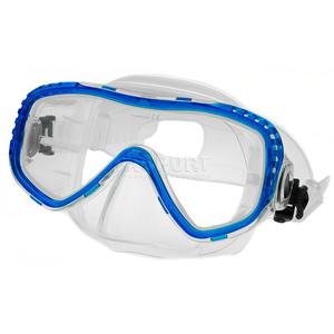 Maska nurkowa TROPICA Aqua-Speed Kolor: niebieski - 2824075623