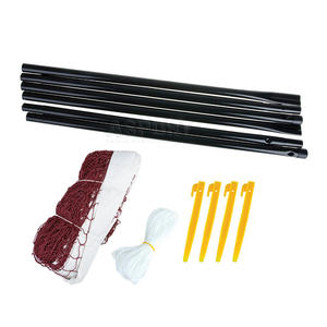 Zestaw do badmintona: siatka, słupki, śledzie, linki BADNET Spokey - 2824075627