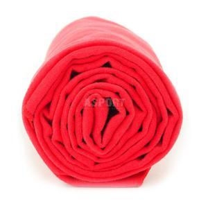 Ręcznik szybkoschnący, Polygiene 60x130cm czerwony Dr. Bacty