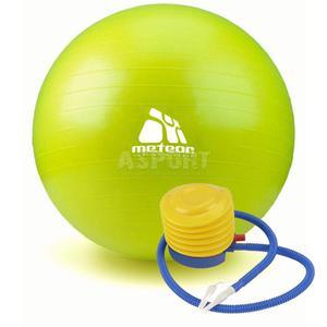 Piłka gimnastyczna, fitness, do ćwiczeń 55cm + pompka Meteor - 2824076536