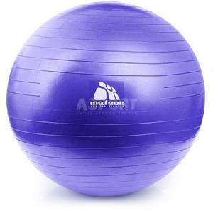 Piłka gimnastyczna, fitness, do ćwiczeń 75cm + pompka Meteor - 2844308452