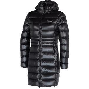 Płaszcz zimowy, damski, ocieplany LISBETH Hannah Rozmiar: 42 Kolor: antracyt - 2824076562