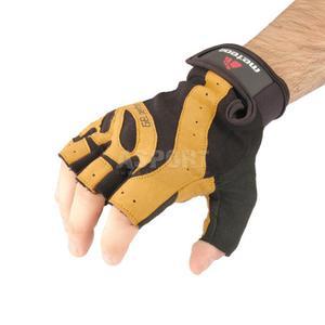 Rękawiczki treningowe, kulturystyczne, skóra syntetyczna GRIP 80 Meteor Rozmiar: L - 2824076627