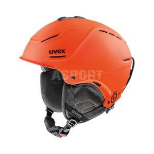 Kask narciarski, snowboardowy P1US regulowany pomarańczowy Uvex Rozmiar: 55-59 - 2824076733