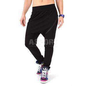 Spodnie fitness, do tańca, na zumbę ZIPPER 2skin Rozmiar: M Kolor: czarno-różowy - 2824077061