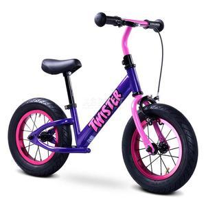 Rowerek biegowy, dziecięcy, metalowy, 3-6 lat TWISTER Toyz - 2824077192