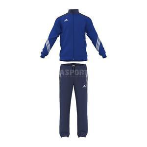 Dres sportowy, juniorski, dziecięcy: bluza + spodnie SERENO 14 Adidas Rozmiar: 140 cm Kolor: czarny - 2835843135