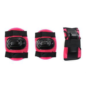 Ochraniacze dziecięce na nadgarstki, łokcie, kolana H108 DARK PINK Nils Rozmiar: XS - 2847763958