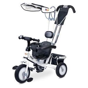 Rowerek dziecięcy, 3-kołowy, daszek, rączka do sterowania DERBY 2015 Toyz - 2849241364