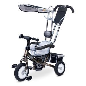 Rowerek dziecięcy, 3-kołowy, daszek, rączka do sterowania DERBY 2015 Toyz - 2849241365