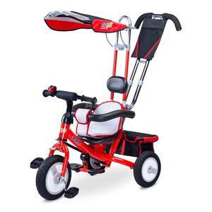 Rowerek dziecięcy, 3-kołowy, daszek, rączka do sterowania DERBY 2015 Toyz - 2836906105