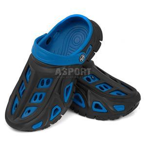 Dzieci�ce, m�odzie�owe klapki basenowe MIAMI niebieskie Aqua-Speed Rozmiar: 32 - 2824080241