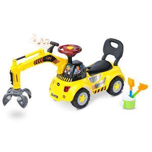 Jeździk / pchacz z chwytakiem + zestaw do zabawy w piaskownicy LIFT Toyz - 2836906220