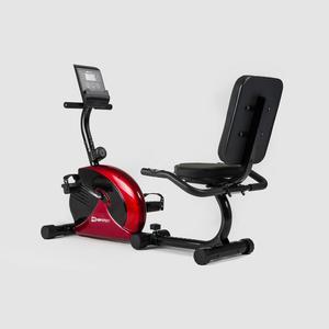 Rower magnetyczny, poziomy VEIRON HS 65 R czerwony Hop-Sport - 2843154839