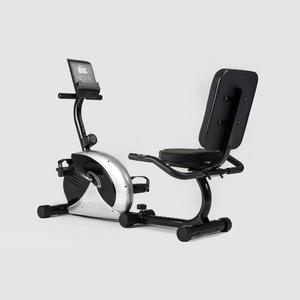 Rower magnetyczny, poziomy VEIRON HS 65 R srebrny Hop-Sport - 2848879585