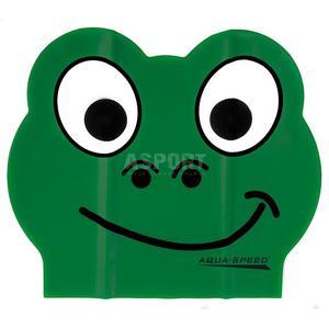 Czepek dziecięcy, lateksowy, z nadrukiem ZOO LATEX FROG Aqua-Speed - 2824083176