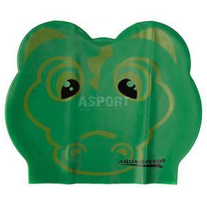 Czepek dziecięcy, lateksowy, z nadrukiem ZOO LATEX CROCODILE Aqua-Speed - 2824083177