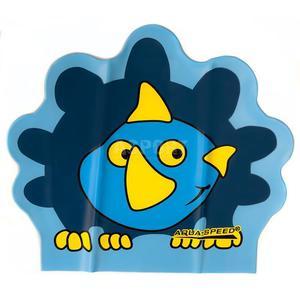 Czepek dziecięcy, lateksowy, z nadrukiem ZOO LATEX DINO Aqua-Speed - 2824083178