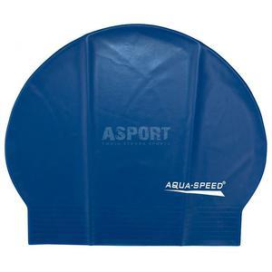 Czepek pływacki z lateksu SOFT LATEX granatowy Aqua-Speed - 2824083198