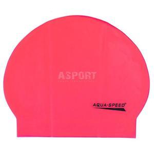 Czepek pływacki z lateksu SOFT LATEX koralowy Aqua-Speed - 2824083199