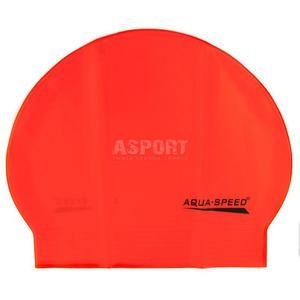 Czepek pływacki z lateksu SOFT LATEX pomarańczowy Aqua-Speed - 2824083206