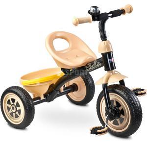 Rowerek dziecięcy, 3-kołowy 3-5 lat CHARLIE beżowy Toyz - 2824083839