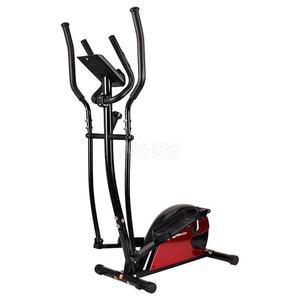 Orbitrek magnetyczny, trenażer HS-4030 czarno-czerwony Hop-Sport - 2824084336