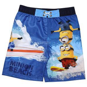 Szorty kąpielowe, chłopięce MINIONKI Rozmiar: 8 Kolor: niebieski - 2824084991