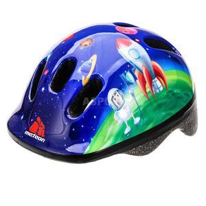 Kask ochronny, dziecięcy, rowerowy, na rolki, wrotki MV6-2 COSMIC ROCKET Rozmiar: 44-48 - 2847029623
