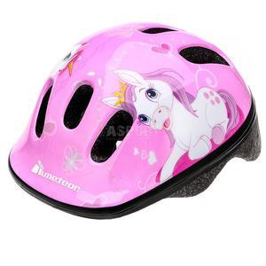 Kask ochronny, dziecięcy, rowerowy, na rolki, wrotki MV6-2 PONY Rozmiar: 44-48 - 2847255480