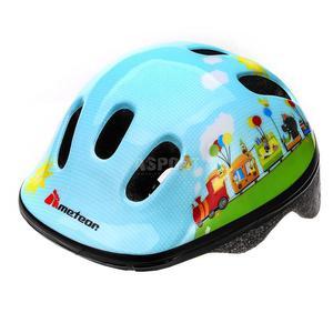 Kask ochronny, dziecięcy, rowerowy, na rolki, wrotki MV6-2 TRAIN Rozmiar: 48-52 - 2847255483