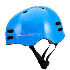Kask ochronny, rowerowy, na rolki MTV18-B blue Meteor Rozmiar: 55-58 - 2850215470