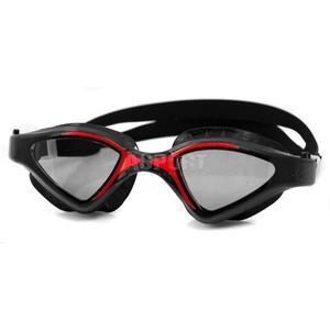 Okulary p�ywackie, filtr UV, Anti-Fog RAPTOR czarno-czerwone Aqua-Speed - 2834629193