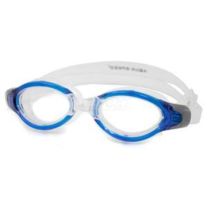 Okulary p�ywackie, filtr UV, Anti-Fog TRITON niebieskie Aqua-Speed - 2834629205