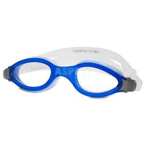 Okulary p�ywackie, filtr UV, Anti-Fog HORNET niebieskie Aqua-Speed - 2834629212
