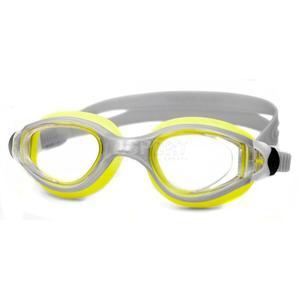 Okulary pływackie, filtr UV, Anti-Fog MIRAGE szaro-żółte Aqua-Speed - 2834629214