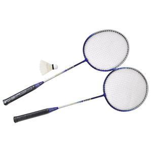 Zestaw do badmintona: 2 rakiety + lotka + pokrowiec TATUU BLUE Axer - 2835242979